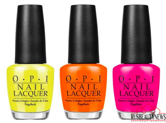 OPI Tru Neon 2016 Summer Collection color1