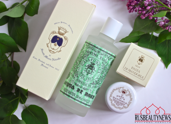 Santa Maria Novella Acqua Di Rose and Pasta Di Mandorle Review