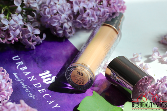 Urban Decay Naked Skin Weightless Ultra Definition Make Up review