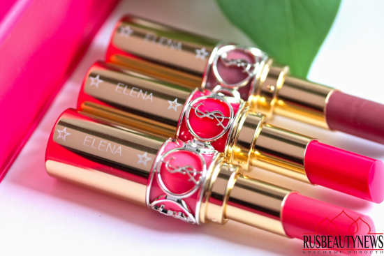 YSL Rouge Volupté Shine Oil-In-Stick Lipstick 41 Corail A Porter, 47 Beige Blouse, 49 Rose Saint Germain