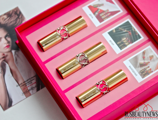 YSL Rouge Volupté Shine Oil-In-Stick Lipstick 41 Corail A Porter, 47 Beige Blouse, 49 Rose Saint Germain Review