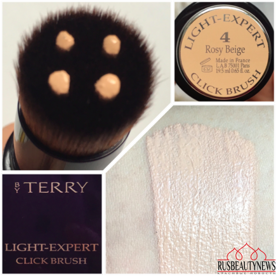 By Terry Light-Expert Click Brush 4 rosy beige