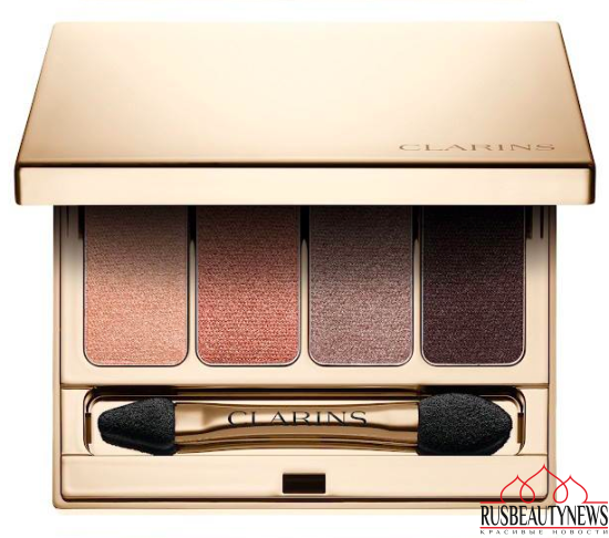 Clarins Volume Fall 2016 Collection eyeshadow1