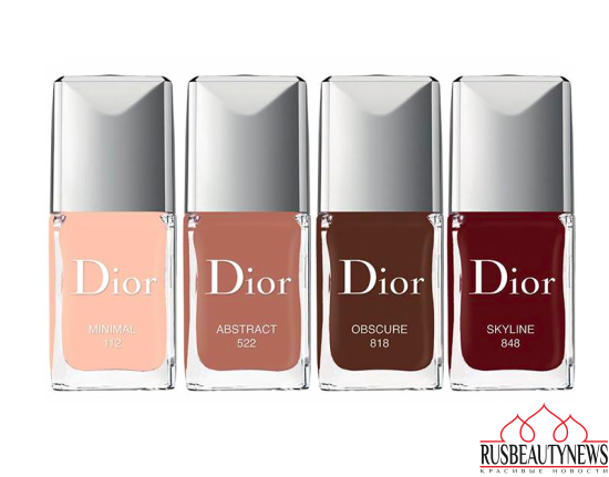 Dior Skyline 2016 Fall Collection nailcolor