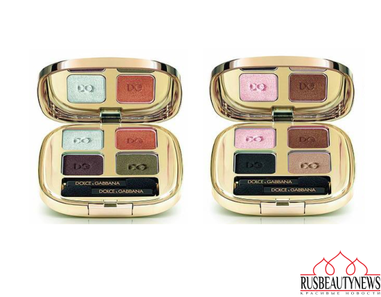 Dolce & Gabbana Wild About Fall 2016 Makeup Collection eyeshadow