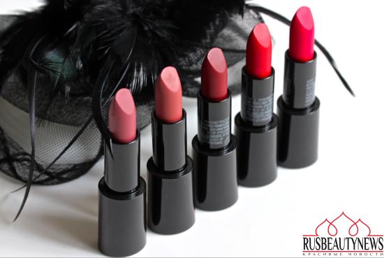 Giorgio Armani Rouge D´Armani 501 Milano Pink, 200 Bamboo Brown, 300 Gio Coral, 514 Eccentrico Pink, 404 Flamboyant Red.