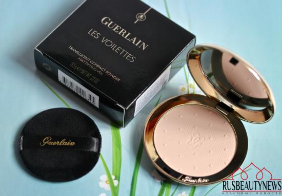 Guerlain Les Voilettes translucent compact powder обзор