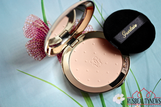Guerlain Les Voilettes translucent compact powder Review