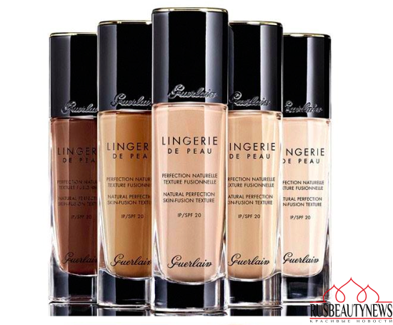 Guerlain Nude Fall 2016 Collection Lingerie de peau