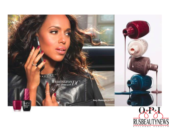 OPI Washington DC 2016 Fall Winter Collection