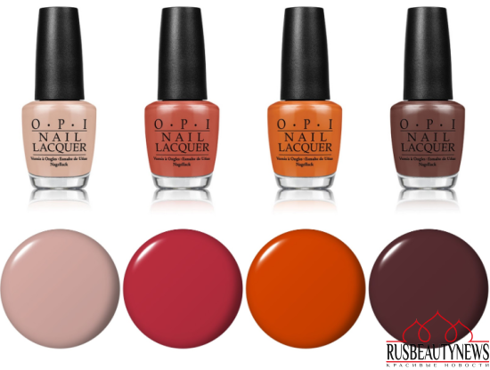OPI Washington DC 2016 Fall Winter Collection color