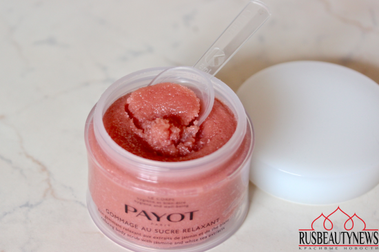 Payot Gommage au sucre relaxant обзор