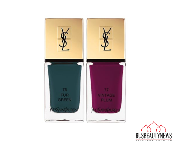 YSL Scandal Fall 2016 Collection nail