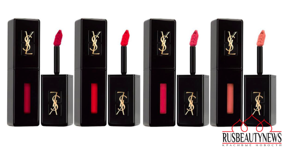 YSL Vinyl Cream Lip Stain Collection color1