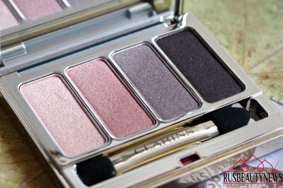 Clarins 4-Colour Eyeshadow Palette 01 Nude Review