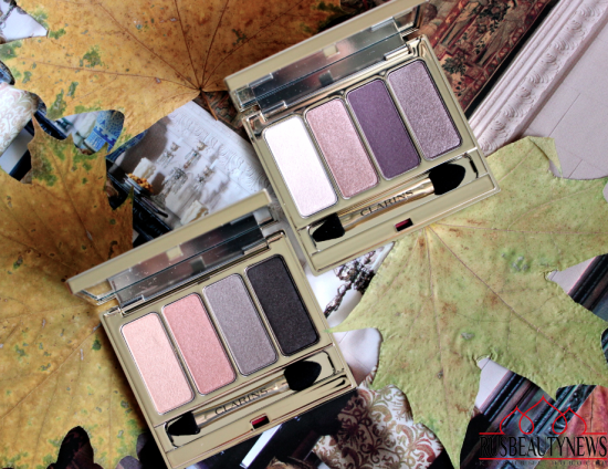 Clarins 4-Colour Eyeshadow Palette 01 Nude and 02 Rosewood отзыв