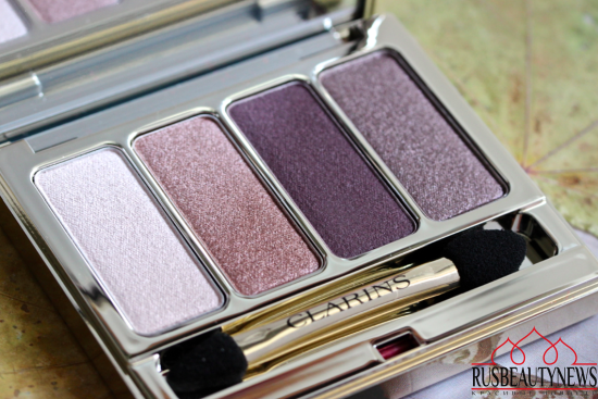Clarins 4-Colour Eyeshadow Palette 02 Rosewood Review
