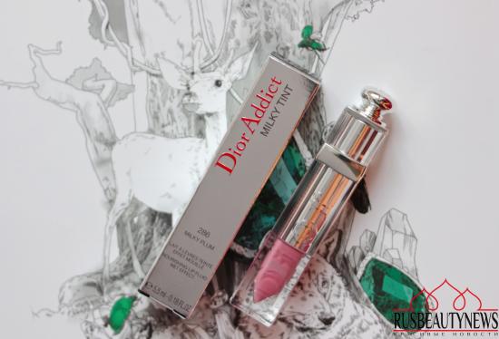 Dior Addict Milky Tint Nourishing Lip Fluid Wet Effect 286 Milky Plum Review