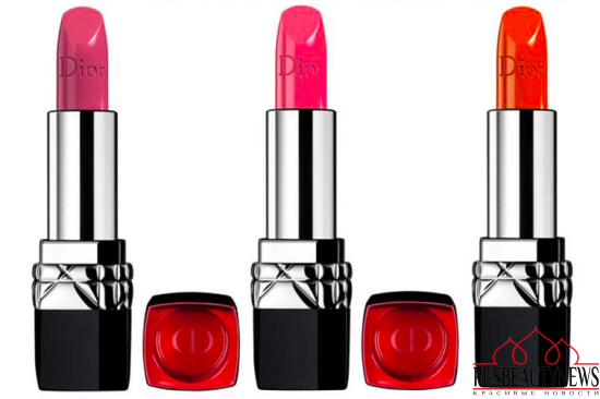 Dior New Rouge Dior Fall 2016 Collection lipp1