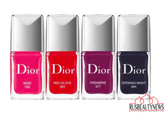 Dior fall 2016 nail color