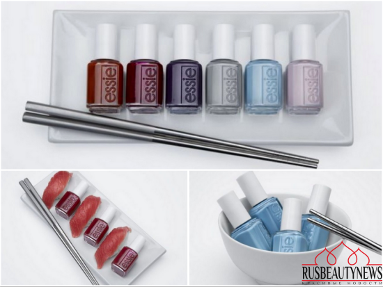 Essie Go Go Geisha Fall 2016 Collection