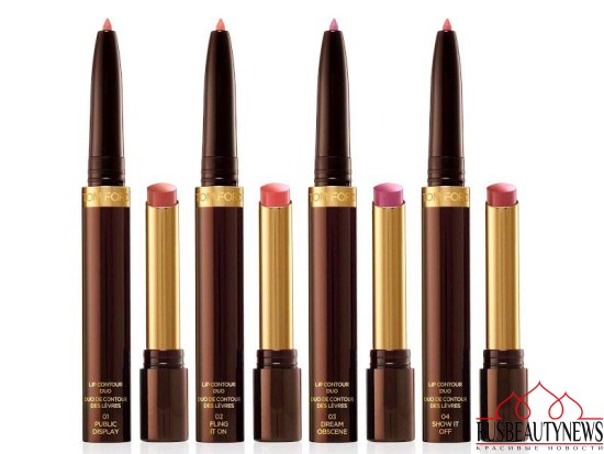 Tom Ford Beauty Lip Contour Duos color