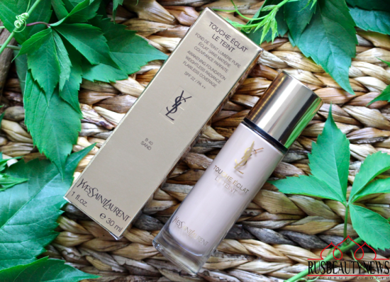 YSL Touche Éclat Le Teint Foundation отзыв
