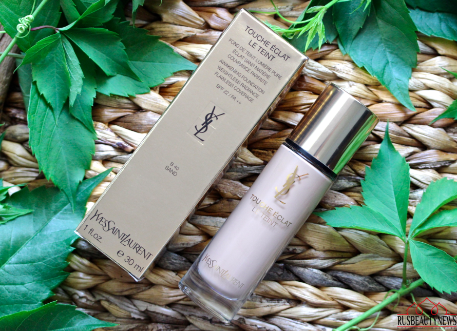 YSL Touche Éclat Le Teint Foundation Review