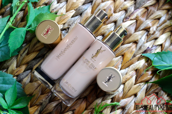 YSL Touche Éclat Le Teint Foundation сравнение