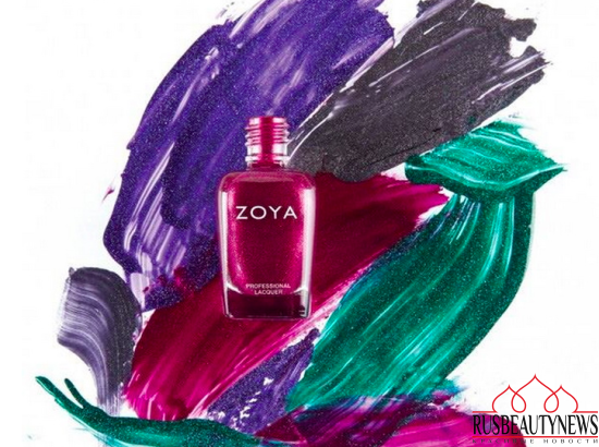 Zoya Urban Grunge Nail Collection Fall Winter 2016