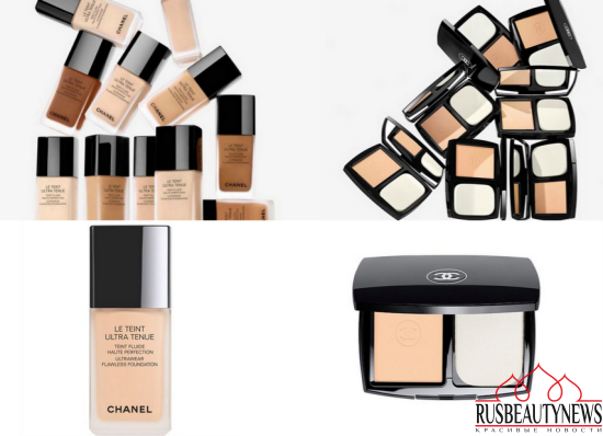 Chanel Le Teint Ultra Tenue Ultrawear Flawless Foundation & Compact
