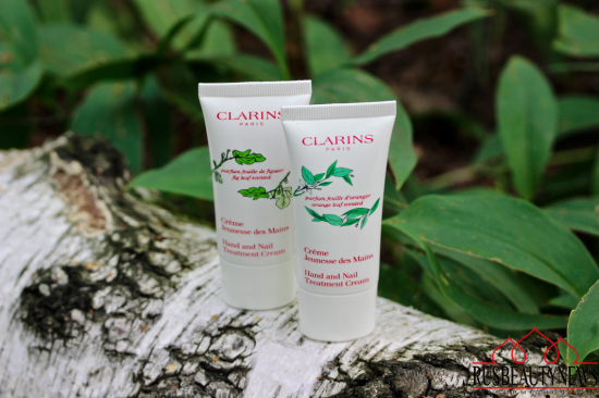 Clarins Jeunesse des Mains Hand and nail treatment cream Fig leaf scented and Orange leaf scented Review