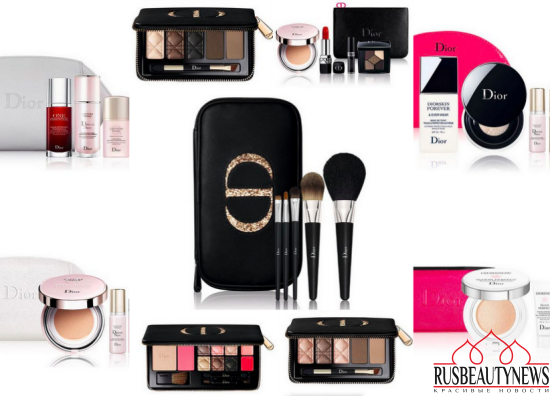 Dior Holiday 2016 Palettes & Sets