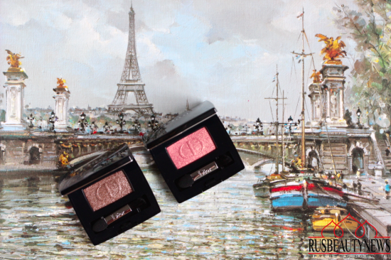 Dior Skyline 2016 Fall Collection eyeshadow Fusion and Reflection