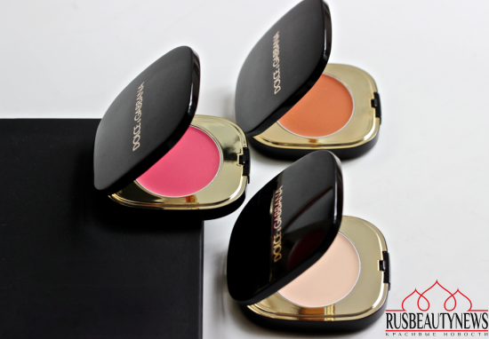 Dolce&Gabbana Blush of Roses Creamy Face Colour Collection обзор