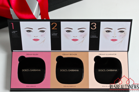 Dolce&Gabbana Blush of Roses Creamy Face Colour Collection отзыв