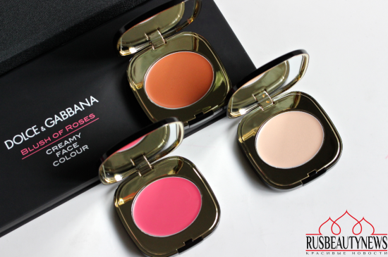 Dolce&Gabbana Blush of Roses Creamy Face Colour Collection review