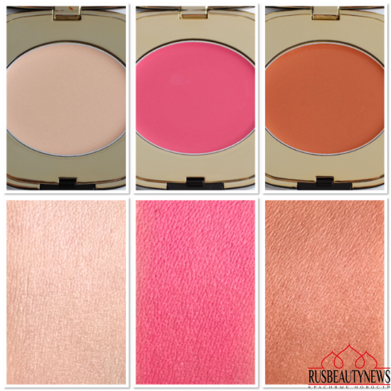 Dolce&Gabbana Blush of Roses Creamy Face Colour Collection swatches