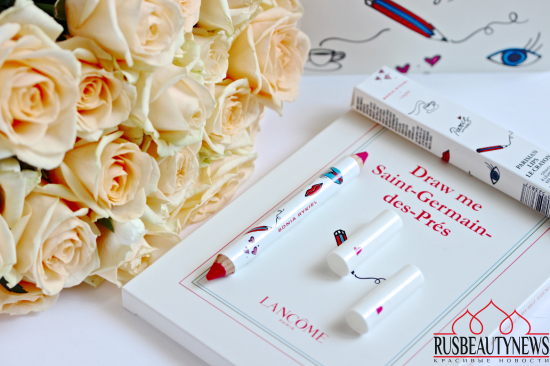 Lancome Sonia Rykiel Makeup Collection Fall 2016 parisian lips le crayon a02 parisian spirit