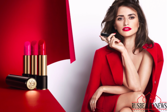 Lancome new L'Absolu Rouge Lipsticks look