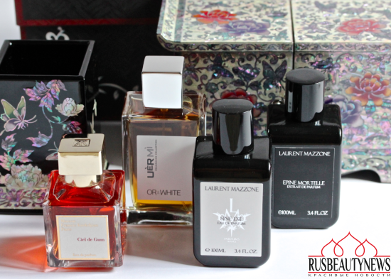 My favorite perfumes in September
