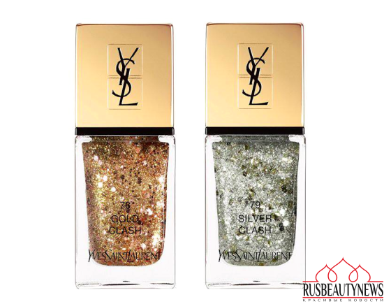 YSL Sparkle Clash Holiday 2016 Collection nail