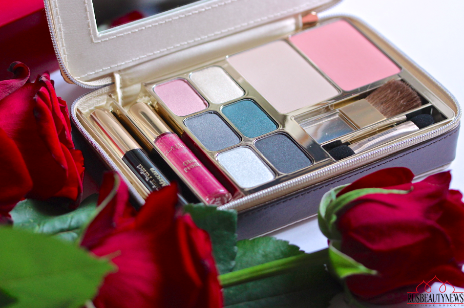 Набор для праздничного макияжа palette de maquillage chapurin by clarins