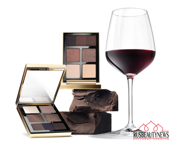 Bobbi Brown Wine & Chocolate Holiday 2016 look