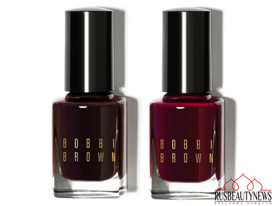 Bobbi Brown Wine & Chocolate Holiday 2016 nail