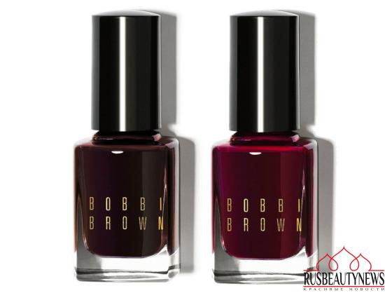 Bobbi Brown Wine & Chocolate Holiday 2016 nail