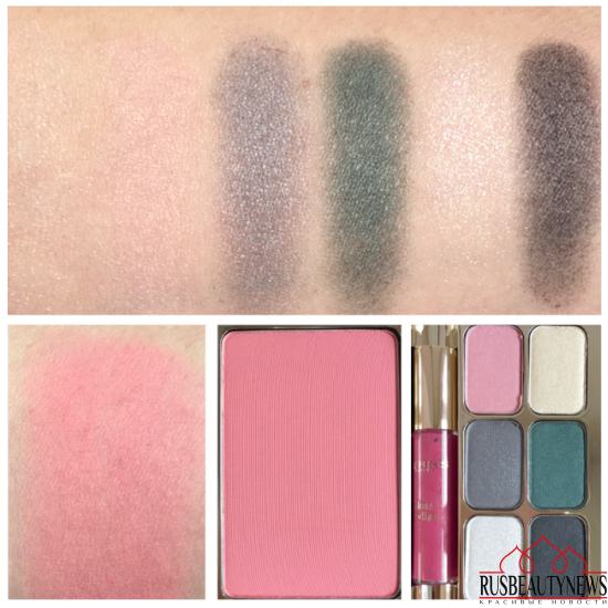 Clarins & Chapurin Palette de Maquillage 2016 swatches
