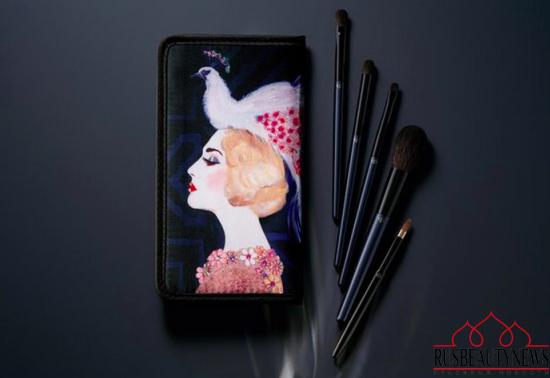Cle de Peau Les Annees Folles Collection for Holiday 2016 brush set
