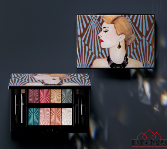Cle de Peau Les Annees Folles Collection for Holiday 2016 eyepalette