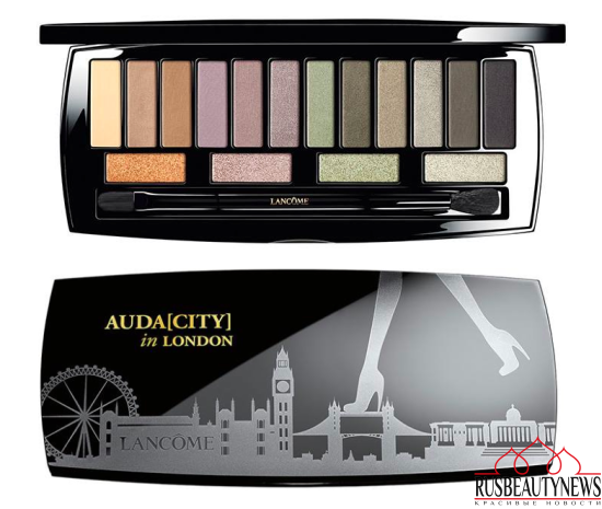 Lancome Auda[city] in London Shadow Palette look1
